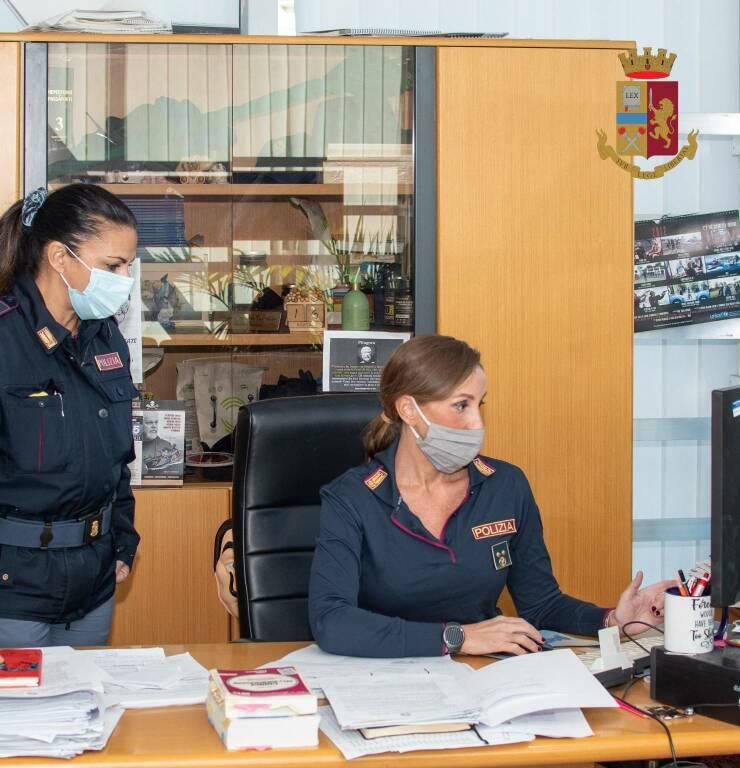 Personale dell'Ufficio immigrazione della Questura