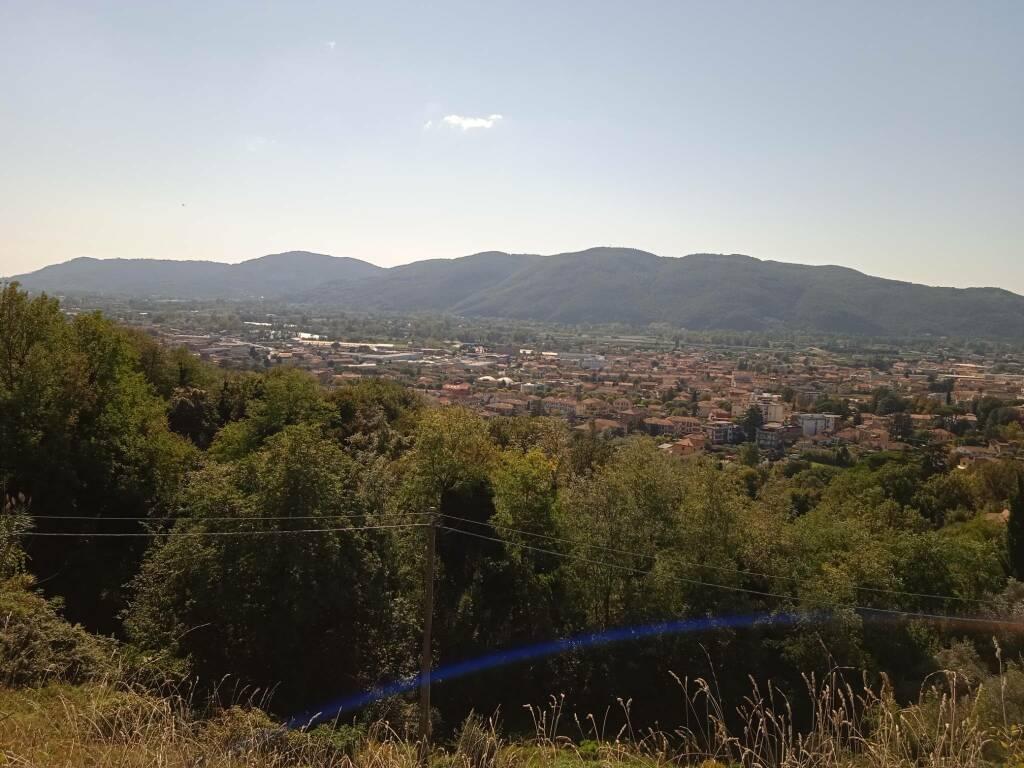 Sarzana vista dalla Fortezza di Sarzanello
